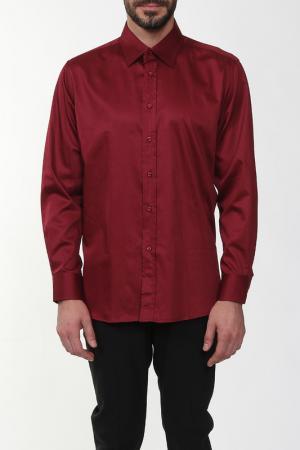 Рубашка REIKARTZ. Цвет: бордовый