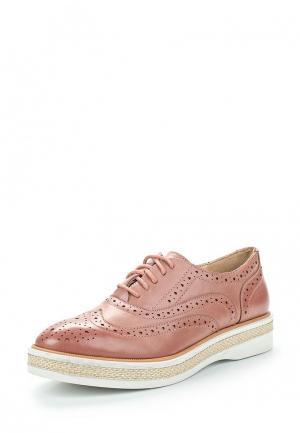 Ботинки Super Mode. Цвет: розовый