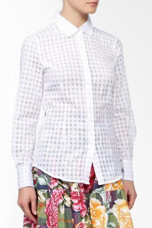 Рубашка MSW ATELIER. Цвет: белый