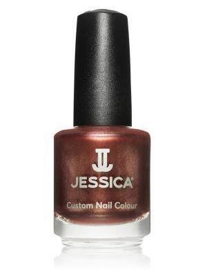 Лак для ногтей  #432 Hush Hush, 14,8 мл JESSICA. Цвет: коричневый