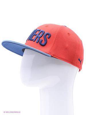 Бейсболка AFC Stretchfit Cap Puma. Цвет: красный