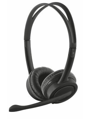 Стереогарнитура 17591 Trust Mauro USB Headset. Цвет: черный