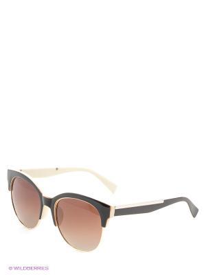 Солнцезащитные очки Vittorio Richi. Цвет: коричневый, молочный