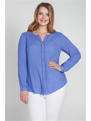 Блузка Bestiadonna. Цвет: синий
