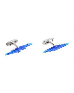 Запонки и зажимы для галстука DSQUARED2. Цвет: синий