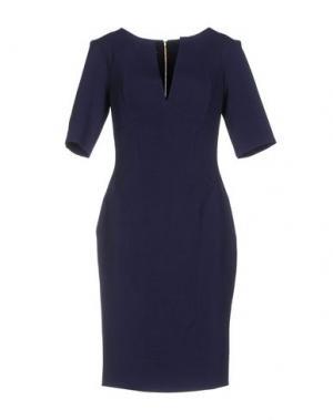 Платье до колена HYBRID. Цвет: темно-синий