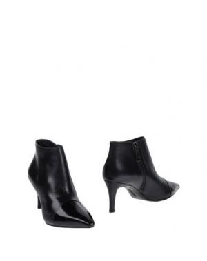 Полусапоги и высокие ботинки FESTA Milano. Цвет: темно-синий