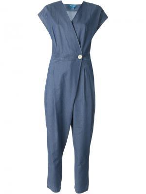 Комбинезон Lantana Mih Jeans. Цвет: синий