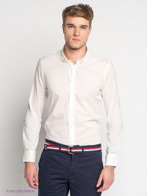 Рубашка Little Marcel. Цвет: белый