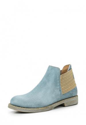 Ботинки Nobrand. Цвет: голубой