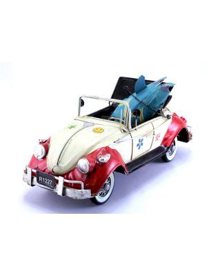 Коллекционная модель авто Ретро essentic. Цвет: кремовый