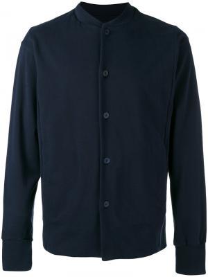Куртка рубашечного типа Labo Art. Цвет: синий