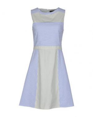 Короткое платье LE MONT ST MICHEL. Цвет: синий