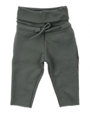 Повседневные брюки LE PETIT COCO. Цвет: зеленый-милитари