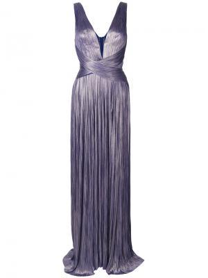 Платье Celeste Maria Lucia Hohan. Цвет: розовый и фиолетовый