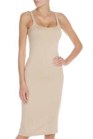 Прилегающее платье на бретелях American Apparel. Цвет: moonlight