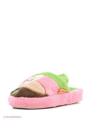 Тапочки детские Dream Feet. Цвет: розовый