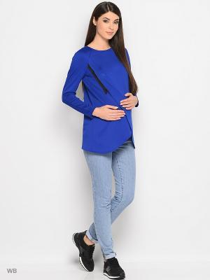Кофточка Trendy Tummy. Цвет: синий, лазурный, розовый