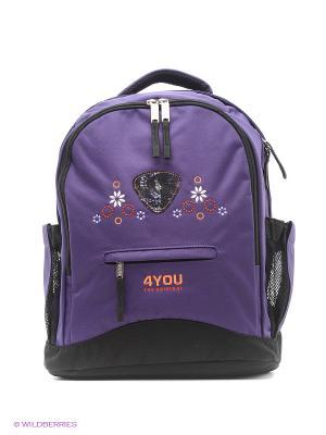 Рюкзак 4you. Цвет: фиолетовый