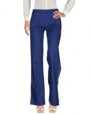 Повседневные брюки EUREKA. Цвет: синий
