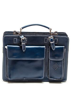 Бизнес-портфель Isabella Rhea. Цвет: синий