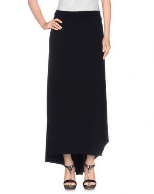 Длинная юбка MANILA GRACE. Цвет: черный