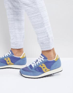 Saucony Темно-синие кроссовки Jazz Original S70368-22. Цвет: темно-синий