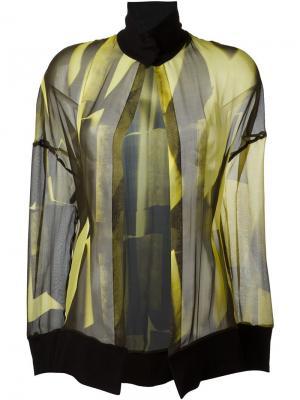 Блузка Radiant Ann Demeulemeester. Цвет: жёлтый и оранжевый