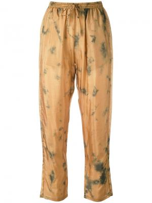 Cropped trousers Mes Demoiselles. Цвет: жёлтый и оранжевый