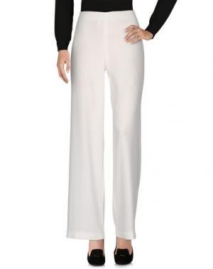 Повседневные брюки THANA. Цвет: белый
