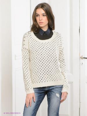 Джемпер Vero moda. Цвет: кремовый