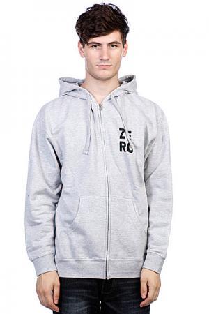 Толстовка  Numero Grey Zero. Цвет: серый