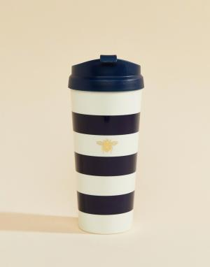 Kate Spade Чашка в полоску. Цвет: мульти