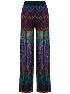 Knitted pants Cecilia Prado. Цвет: чёрный