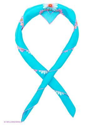 Платок Venera. Цвет: голубой, розовый