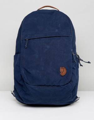 Fjallraven Темно-синий рюкзак Raven. Цвет: темно-синий