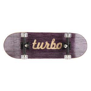 Фингерборд  П10 Purple/Black/Clear Turbo-FB. Цвет: белый,черный,фиолетовый