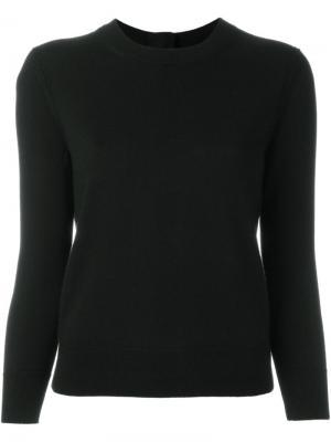 Джемпер с декоративными пуговицами Marc Jacobs. Цвет: чёрный