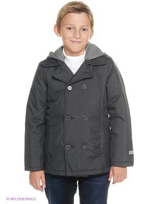 Куртка S`Cool. Цвет: темно-серый