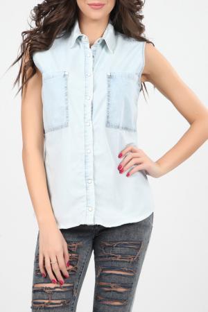 Рубашка Christina Dea. Цвет: синий