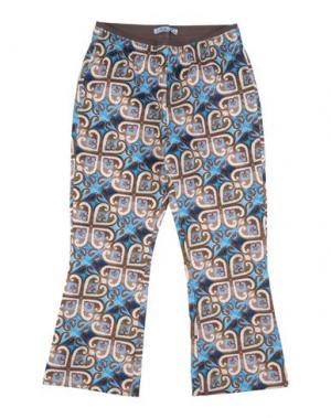 Повседневные брюки MIMISOL. Цвет: лазурный