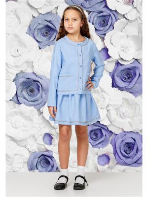Жакет BiBi DeLuxe. Цвет: голубой