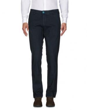 Повседневные брюки DIMATTIA. Цвет: цвет морской волны