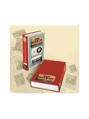 Декоративная шкатулка  Аудиокассеты Magic Home. Цвет: голубой, красный