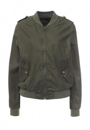 Куртка Sisley. Цвет: хаки
