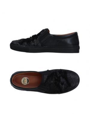 Низкие кеды и кроссовки RAS. Цвет: черный