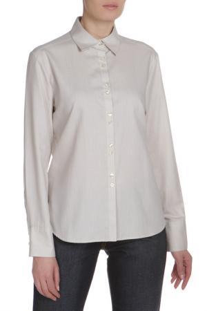 Блуза ETERNA. Цвет: бежевый