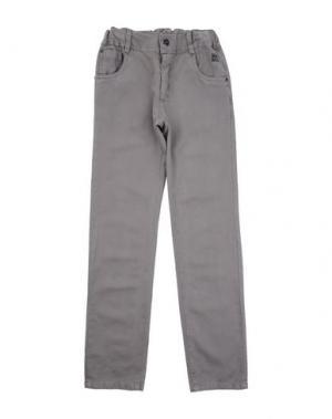 Повседневные брюки MIRTILLO. Цвет: серый