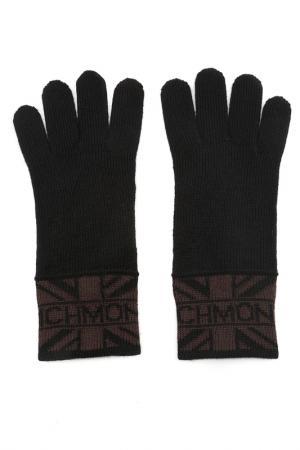 Перчатки John Richmond. Цвет: 1001 черный