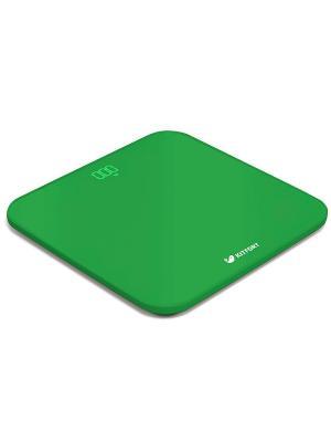 Весы напольные КТ-802-3 зеленый Kitfort. Цвет: зеленый